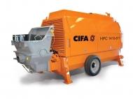 Стационарный бетононасос CIFA серия HPC